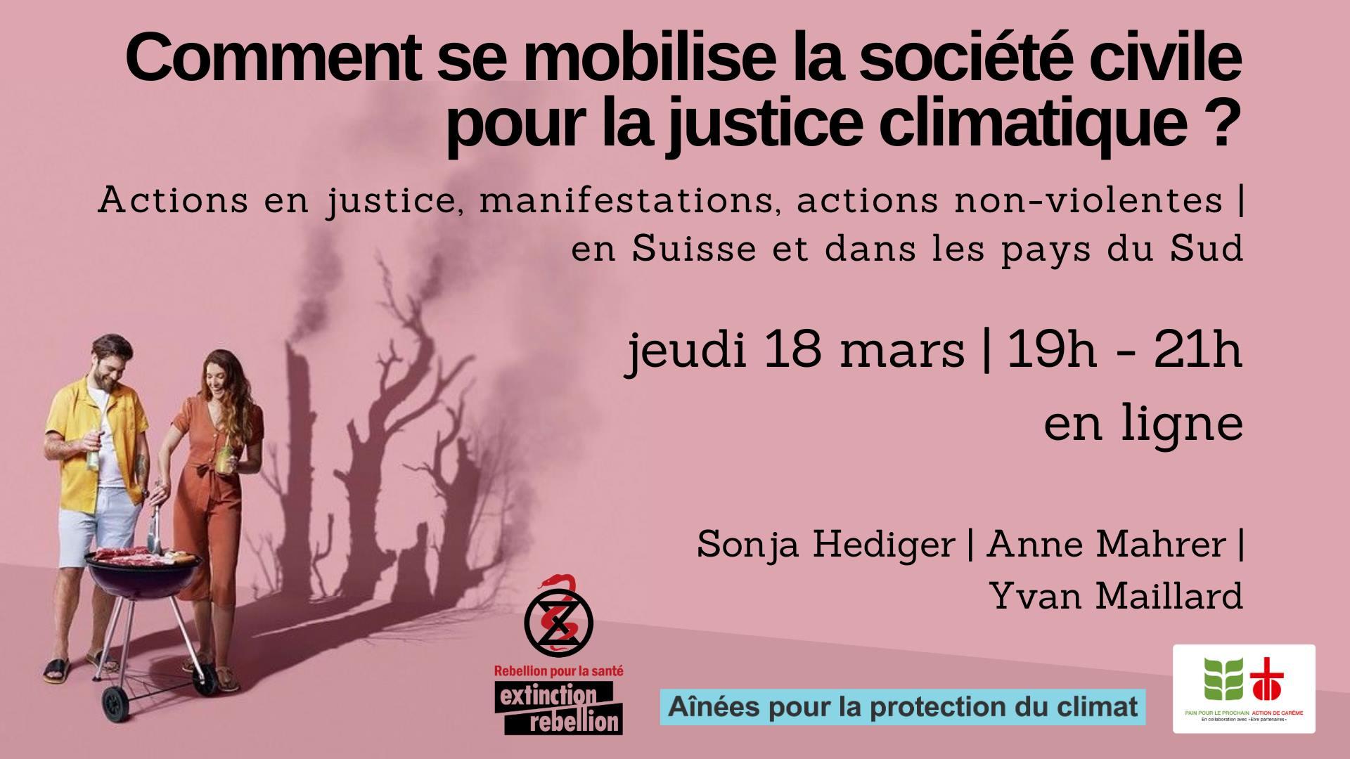 Comment se mobilise la société civile pour la justice climatique ?