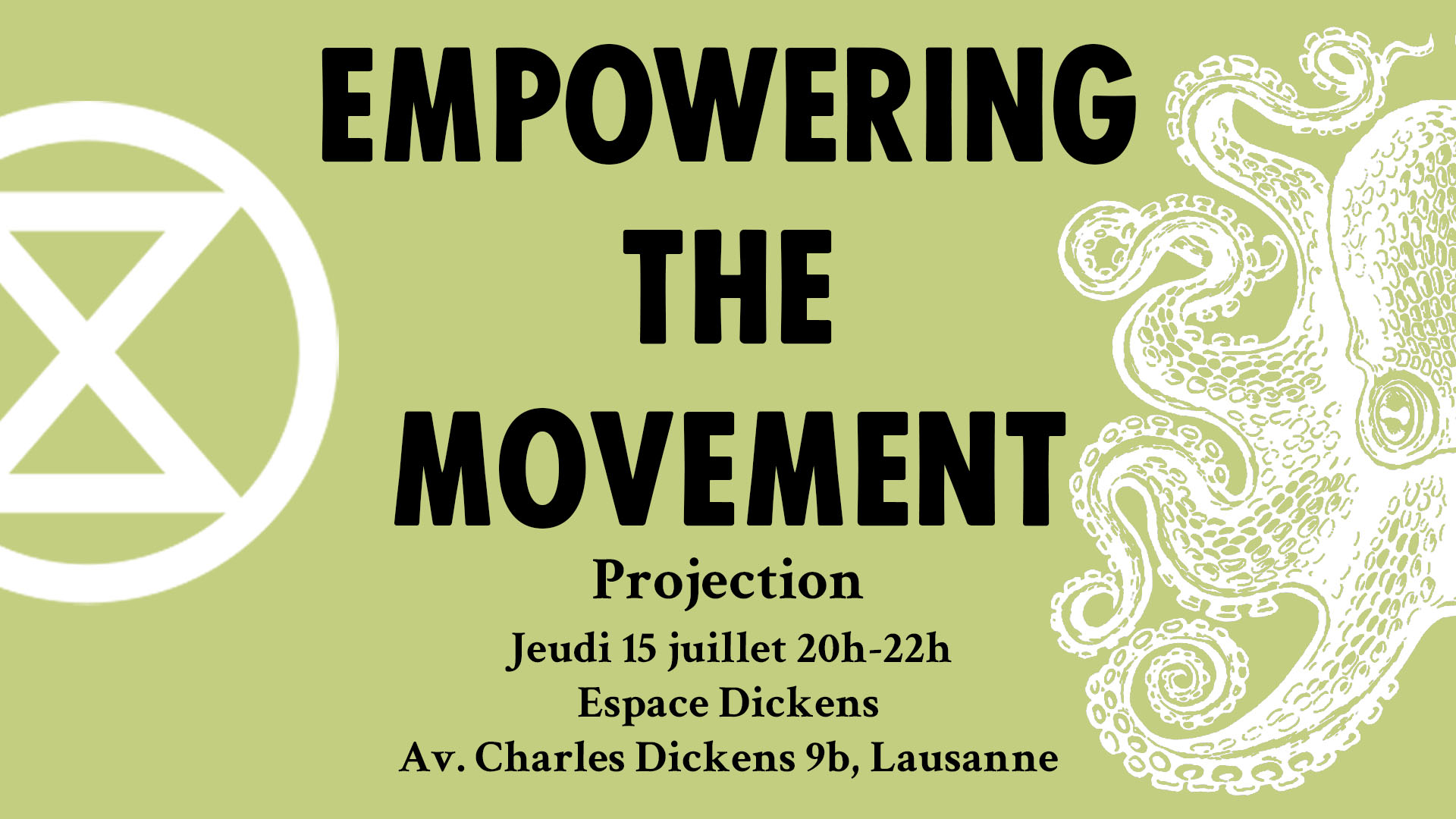PROJECTION – Renforcer le mouvement : s'auto-organiser