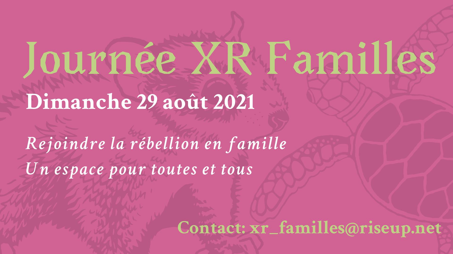 Journée XR Familles