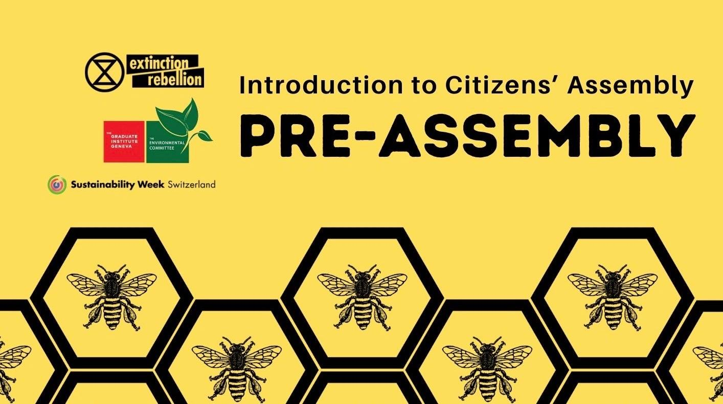 Pre-Assembly: Introduction to Citizens' Assembly