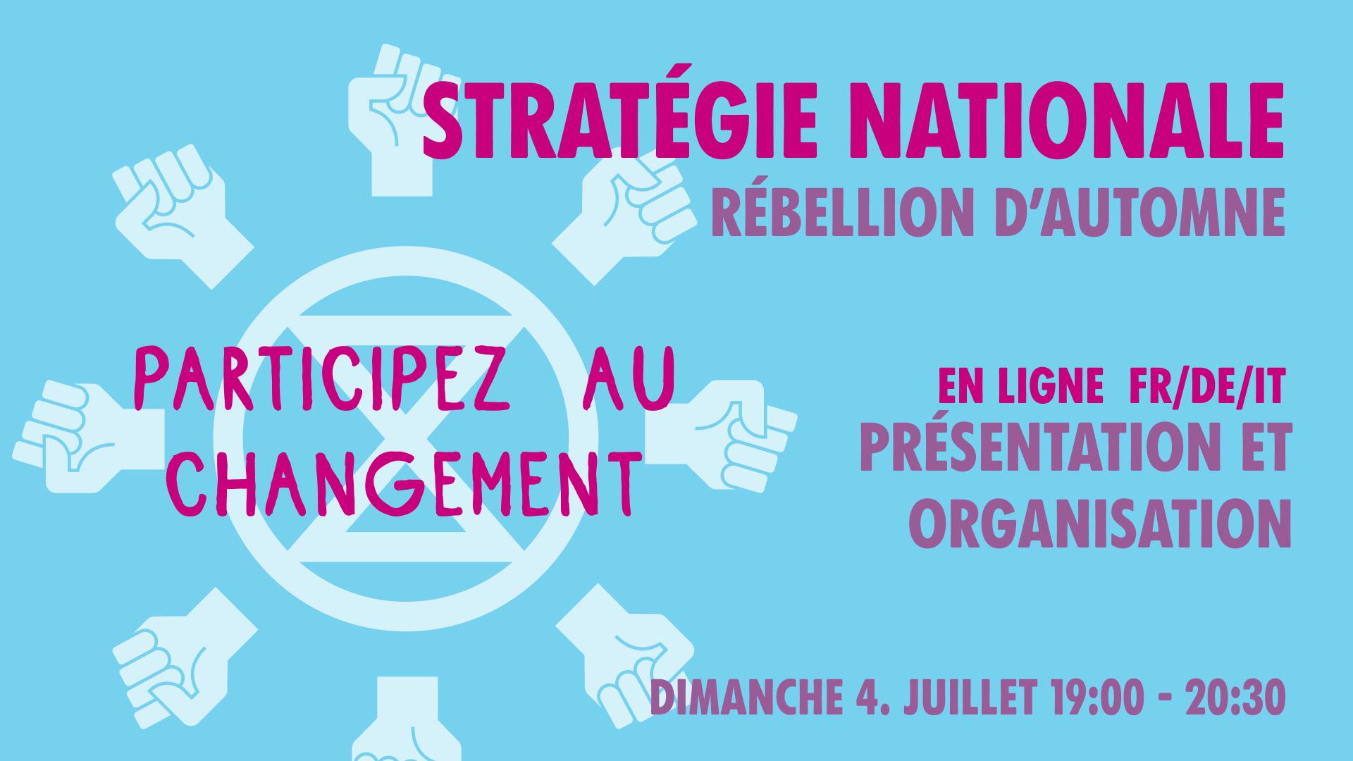 Stratégie nationale – Rébellion d'automne