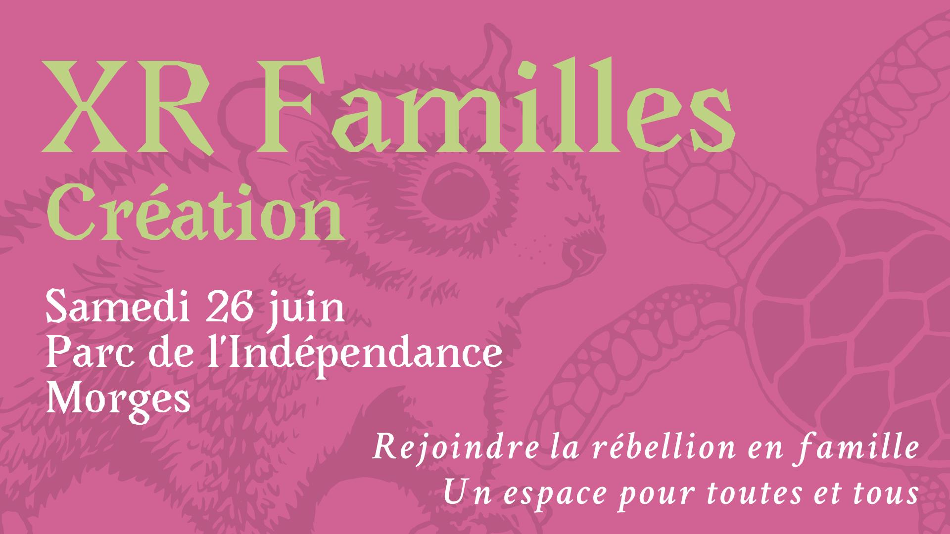 XR Familles création