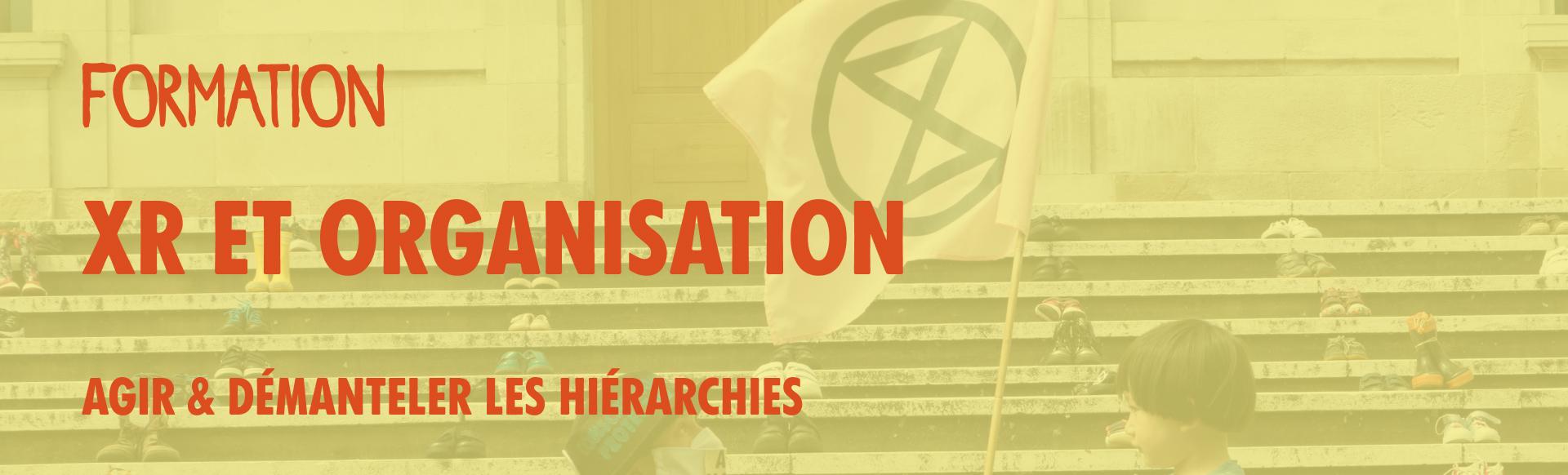 Formation XR et organisation
